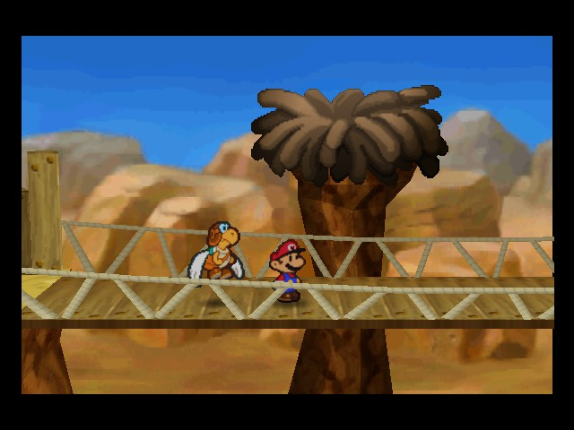 Paper Mario - Location  - He really flew the coop this time - User Screenshot